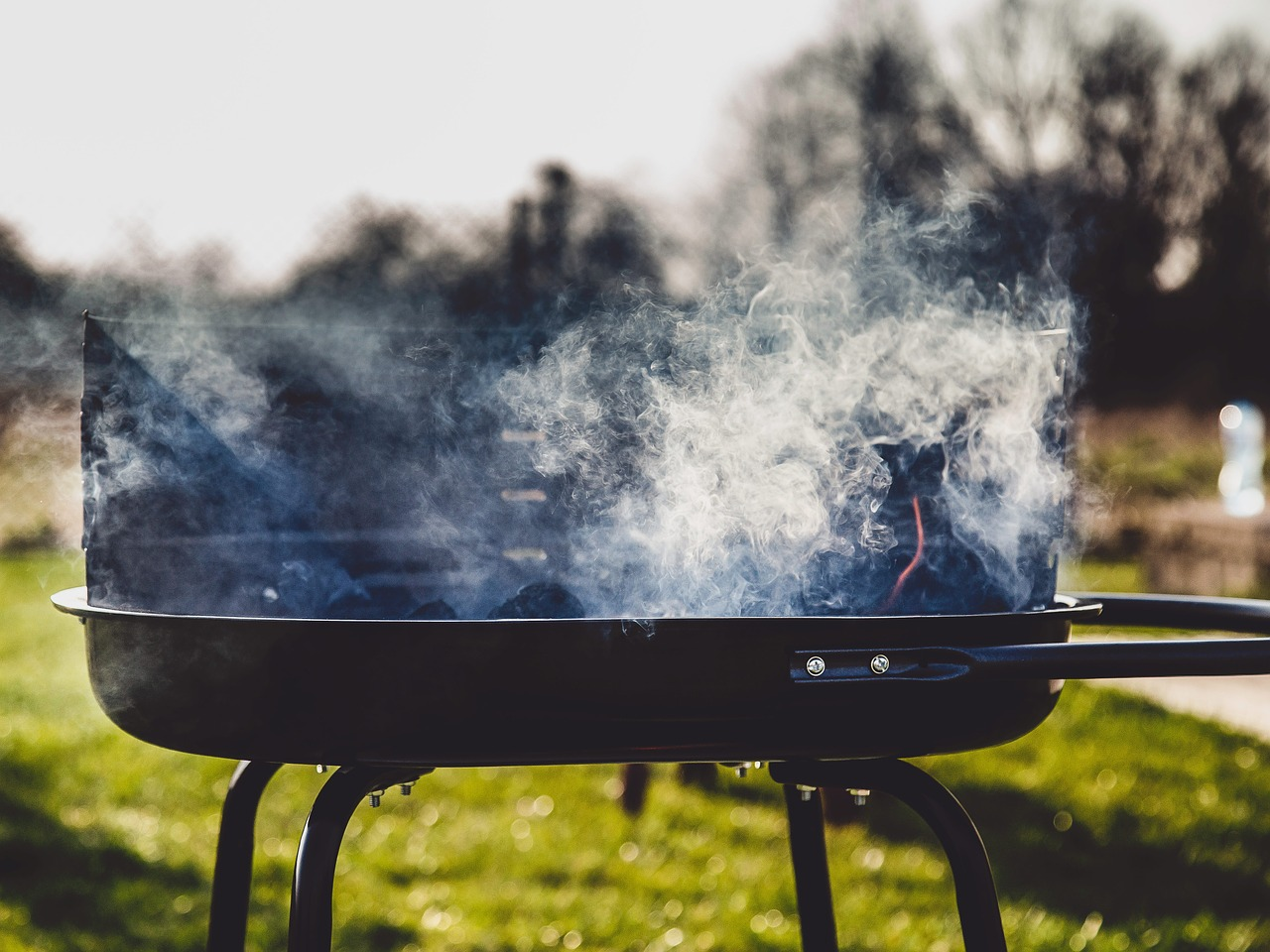 grill, smoke, barbecue